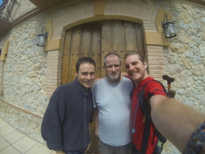 Matt, Steve, and me